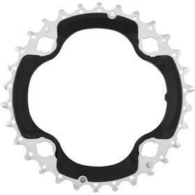 Shimano Deore FC-M6000-3 Corona dentata 10 velocità AN, black